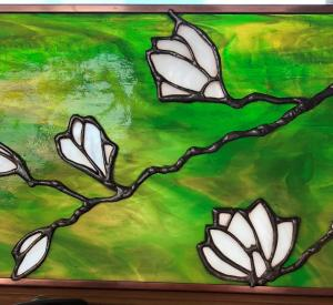 Silent Auction Magnolia Stained Glass